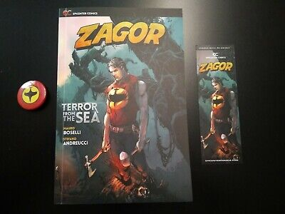 Zagor Terror From The Sea - Nuovo mai letto