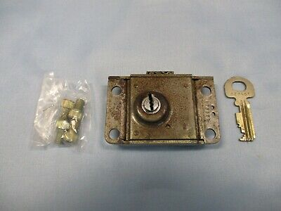 Tee Comm TC-17B Western Electric Payphone Lock with one Key 3 Slot Pay Phone