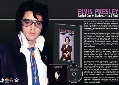 Elvis Presley Taking Care Of Business In A Flash FTD Book/ CD DELETED LAST ONES