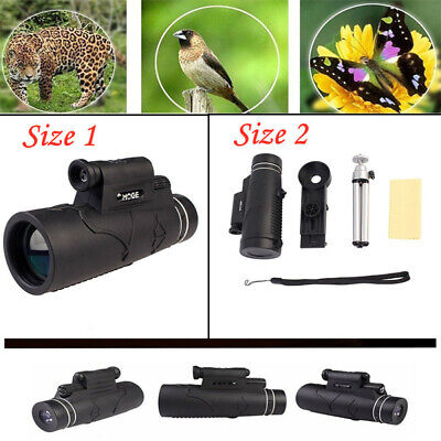 50x60 Monocular Telescope 50X Magnification Night Vision Prism Monocular