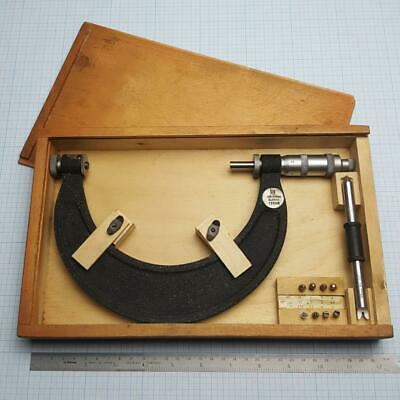 Screw Thread Micrometer 125-150mm +8 Metric ISO60° Pitch inserts