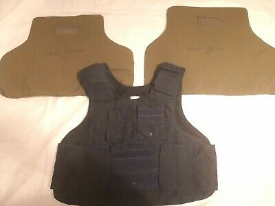 Navy Blue Level Ii  Bulletproof Vest Body Armor 9X19Mm