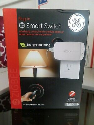 GE ZigBee Plug-In Smart Switch - 120V  ZB4101 BRAND NEW