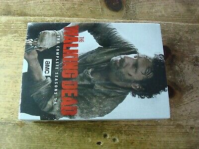The Walking Dead The Complete Seasons 1 - 4 DVD New Sealed 16-disc