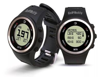NEW Golf Buddy WT6 Golf GPS Watch Range Finder - 2017