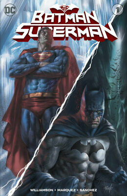Batman Superman #1 Parrillo Variant Dc Comics 2019 Batman Who Laughs