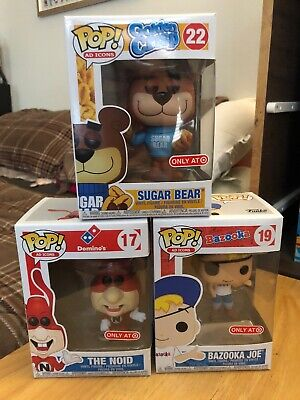 Funko Pop Ad Icon Target Exclusive Lot
