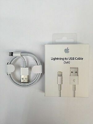 Genuine Original Apple Lightning to USB Charge Cable for iPhone X,8,7,6s/Plus/5