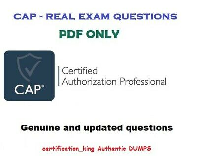 ISC2 CAP - Certified Authorization Professional - exam questions and solutions
