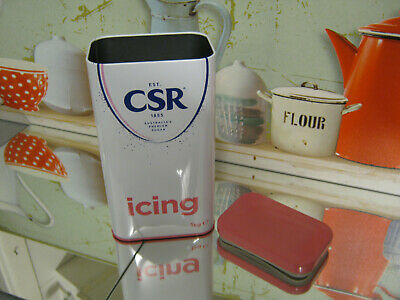 Csr Icing Sugar Tin 1Kg  (Limited Edition) New X1 Collectible Empty