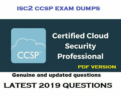 ISC2 Certified Cloud Security Professional CCSP exam dumps questions and answers