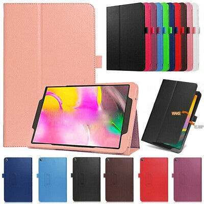 """Case For Samsung Galaxy Tab A 10.1"""" 2019 SM-T510 T580 Tablet Leather Stand Cover"""