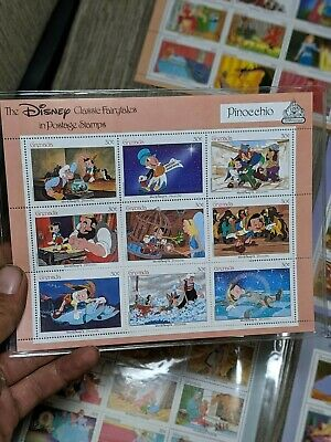 Disney Classic Fairytale Postage Stamps