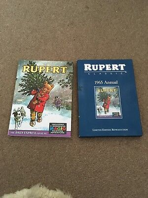 Rupert Classic 1965 Annual Limited Edition Reproduction