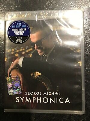George Michael – Symphonica - High Fidelity - pure audio - blue ray - M/S