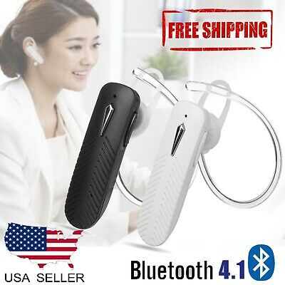 Wireless Bluetooth Headset with Mic Business Driving Earpiece Hands-Free Call