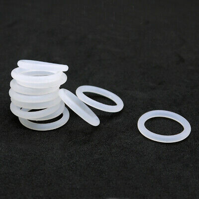 Ø2.4mm Food Grade White Silicone Rubber O-Ring Gasket Sealing Washers OD=30~95