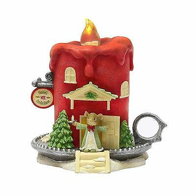 Enesco Tails with Heart Nimbles Wee Candle House (6003897)
