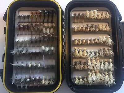144 Western USA Quality Trout Fly Box  Assortment