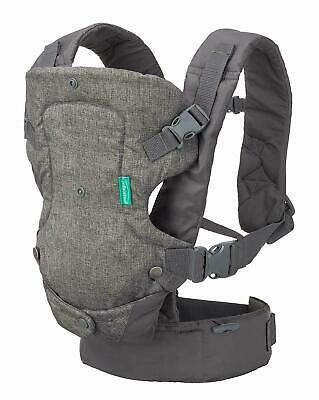 Infantino Flip 4-in-1 Convertible Carrier, Machine washable, Adjustable seat