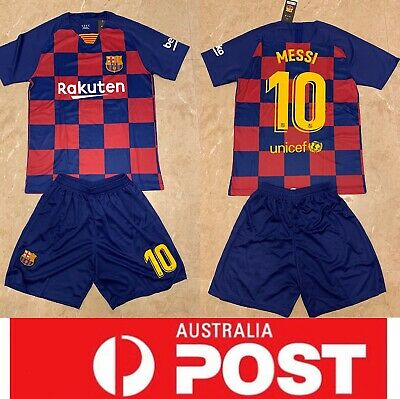 Barcelona soccer club 2020 new jersey, #10 Messi jersey, AU stock