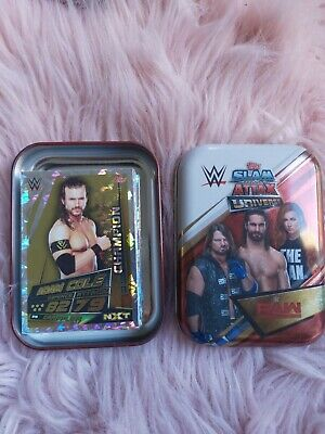 Topps Slam Attax Universe Mini-tin and Full set (-3) of Champion Cards!!