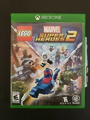 LEGO Marvel Super Heroes 2 Xbox One 1 100% Complete CIB Excellent Used Condition