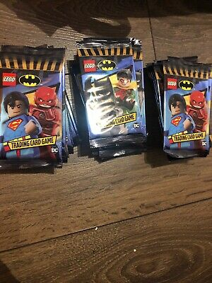 Lego Batman Trading Card Game-42 Packs