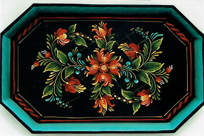 """Judy Diephouse tole painting pattern """"Early American Tole Tray"""""""