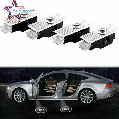 4X Car Door Courtesy LED Projector Ghost Shadow Light for BMW Logo Welcome Light