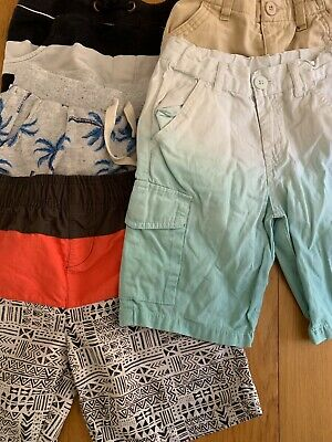 BOYS SHORTS casual & swimming size 5-6 (5 pair)