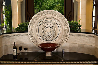Lion  Backsplash  Shower  Bath  Garden   Arts & Crafts  Gothic Ellison Tile
