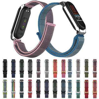 Fiber Band Breathable Replacement Wristband Wrist Strap For Xiaomi Mi Band 4 3