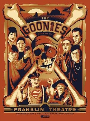 "The Goonies Movie 80's Pop Culture Sloth Never Say Die 13""x19"" Poster Print#5"