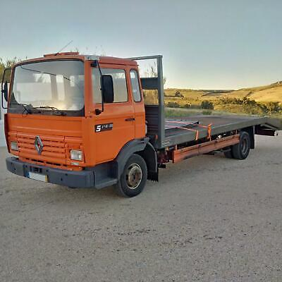 Left hand drive Renault Midliner S120 Turbo, Recovery truck with winch