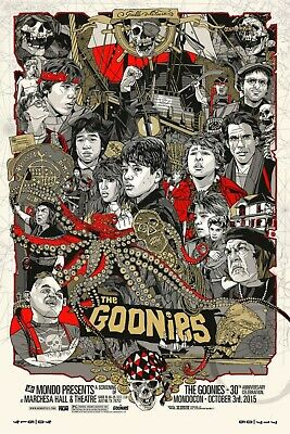 "The Goonies Movie 80's Pop Culture Sloth Never Say Die 13""x19"" Poster Print#14"
