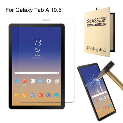 Premium Tempered Glass Film Screen Protector For Samsung Tab A 10.5 SM-T590/T595