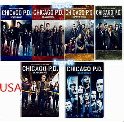 Chicago P.D. PD: Complete Series 1-6 Seasons 1 2 3 4 5 6 New Sealed Free Ship US