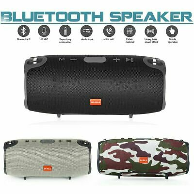 BIUBLE Portable Wireless Bluetooth Speaker Waterproof Stereo Bass USB/AUX/TF MP3