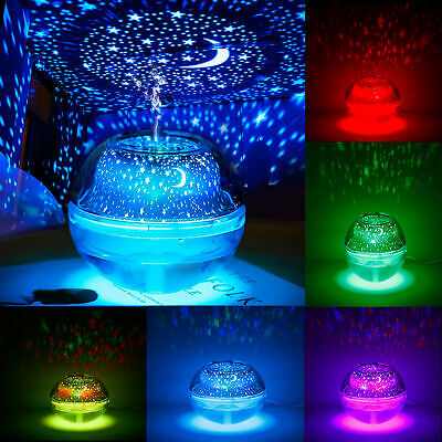 Colorful LED 500ML Ultrasónico Aire Humidificador Purificador Aroma Aromaterapia