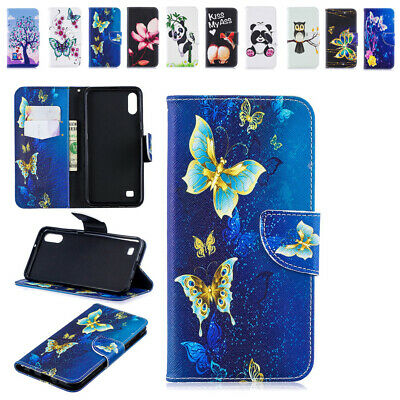 Unique Pattern Cover For Samsung Galaxy A10 A10e A20 A20e Stand Magnetic Holster