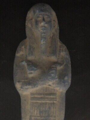 Large Ancient Egyptian Faience Shabti  (945-715 BC.)
