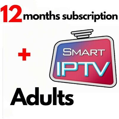 Smart-iptv-Abonnement-12/6 Months -8500-chaines/vod+ adults android,m3u,box,mag