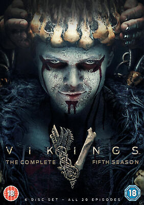 Vikings Season 5: Volumes 1 & 2 (DVD) Gustaf Skarsgård, Katheryn Winnick