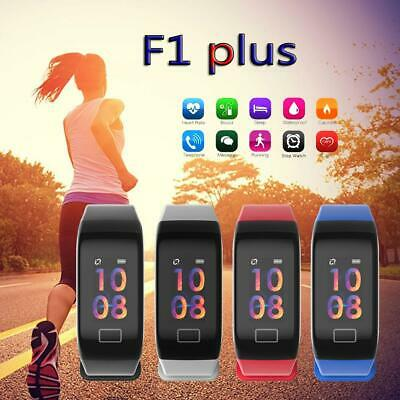 F1 Sport Blood Pressure Oxygen Heart Rate Fitness Smartwatch Wrist Band Bracelet