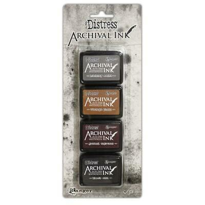 Tim Holtz Distress Mini Archival Ink Pads - KIT #3