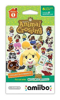 Animal Crossing Amiibo Series 1 Cards #1-100 (choose your card)