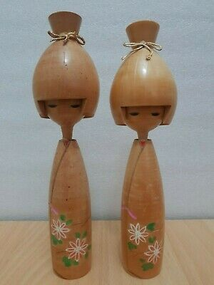 Japan Made Creative One Pair Kokeshi doll  (25 cm)