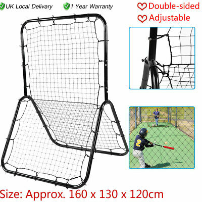 Double-sided Rebounder Elastic Net Soccer Baseball Football Training Adjustable