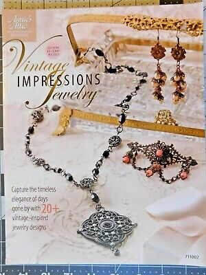 Vintage Impressions Jewelry Annie's Instruction Booklet